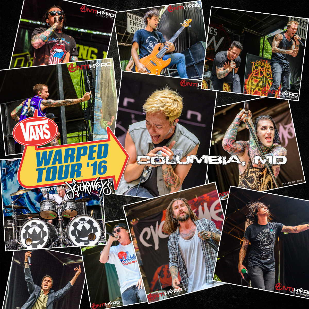 Festival Review: VANS WARPED TOUR In Columbia, MD