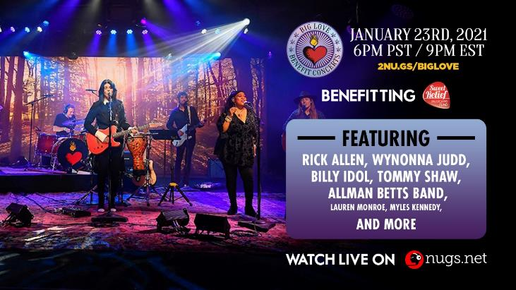 BIG LOVE BENEFIT CONCERT