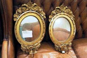 Spegellampetter sent 1900-tal, värde 4600 kr