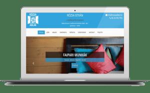 nyílászárós honlap vállalkozónak