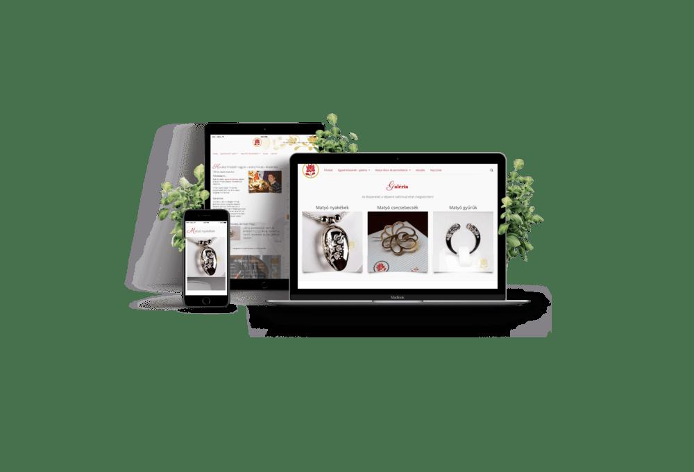 Ékszerész honlap - weboldal ékszerésznek, aranyművesnek