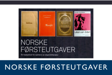 Norske Førsteutgaver