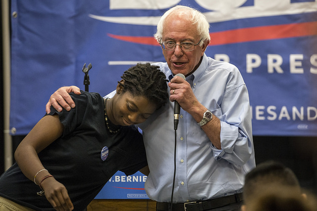 Sen. Bernie Sanders (Phil Roeder photo)