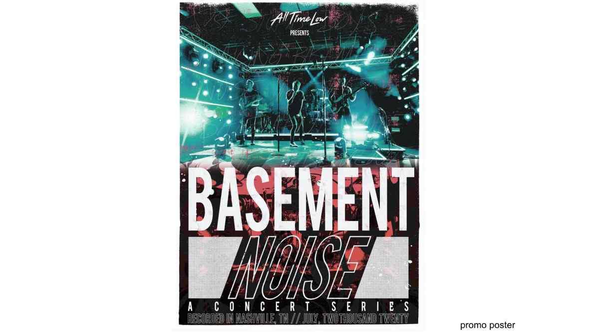all time low announce basement noise