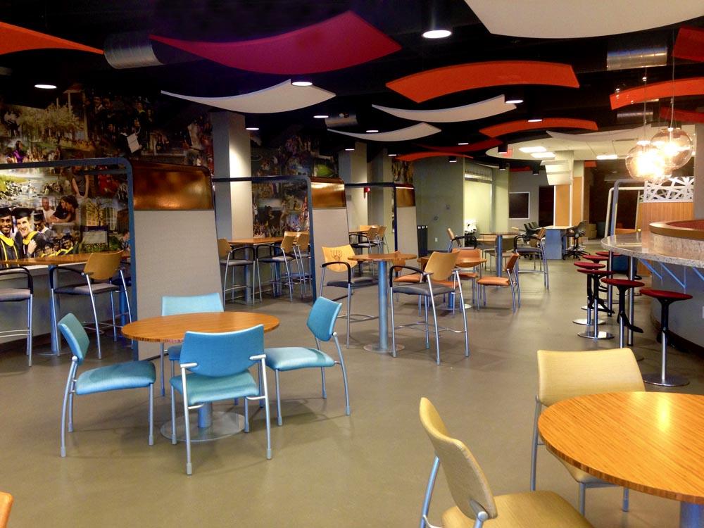 University of Bridgeport – Cox Student Center