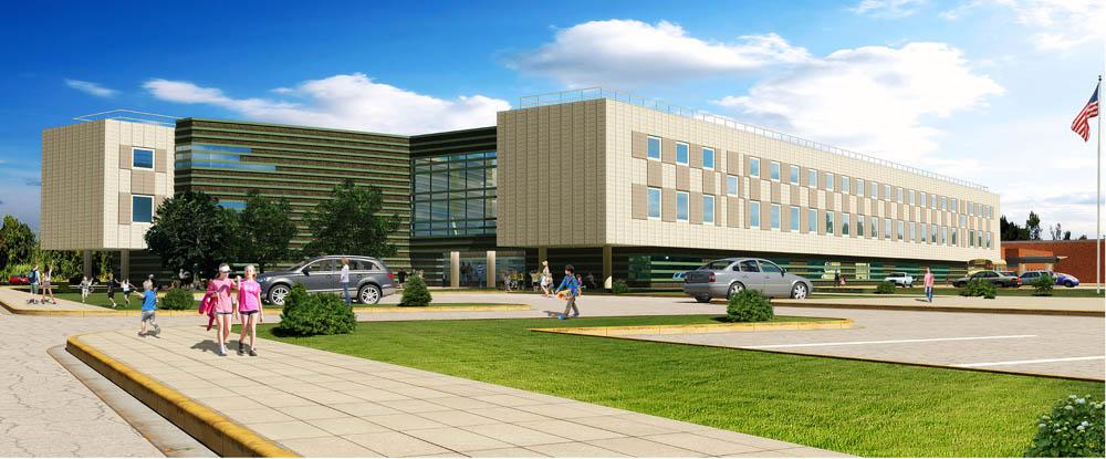 Francis Walsh Intermediate School, Education Architecture, Antinozzi Associates