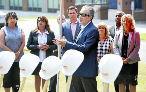 Antinozzi Associates breaks ground on new West Haven High School project.
