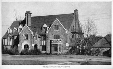 Theta_Deuteron_chapter_of_Phi_Sigma_Kappa,_at_Oregon_State,_1947