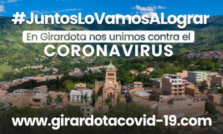 Alcaldía de Girardota lanza Página web para informar a la gente sobre el Covid19