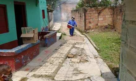 Control a criaderos del Dengue en Amagá