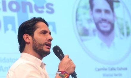 Diputado Camilo Calle vota a favor del Plan de Desarrollo de Antioquia