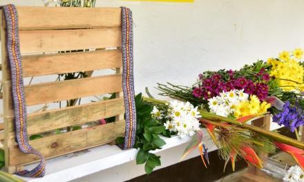San Cristóbal cultiva flores para silletas