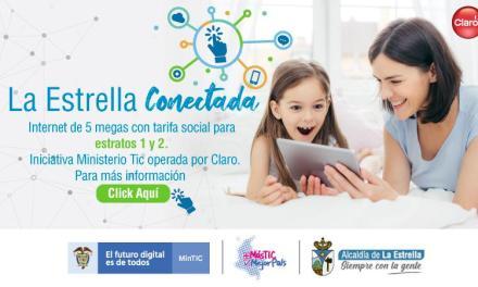 ¡Una buena noticia para la estrella!, el municipio tendrá Internet con tarifa social