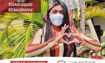 Guadalupe hace campaña por una crianza con amor