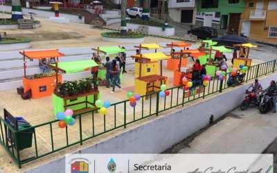 Mercado campesino en San Andrés de Cuerquia