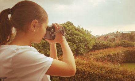 Concurso de fotografía en Campamento