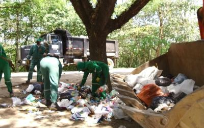 Recolección de residuos en Santo Domingo