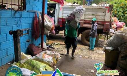 Caramanta logró llegar a las veredas para la recolección de residuos