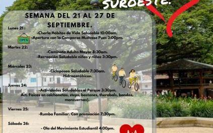 """Programa """"Muévete al Ritmo del Corazón del Suroeste"""" en Hispania"""