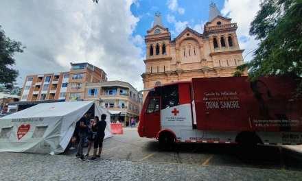 Barbosa es donadora de sangre