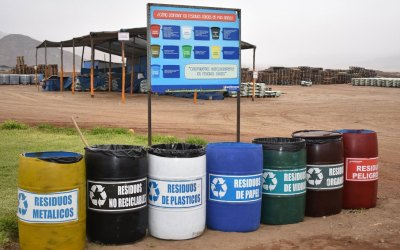 Pedagogía sobre manejo de residuos sólidos en Dabeiba