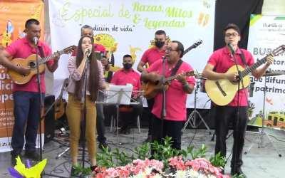 Giraldo exalta a los grupos musicales del municipio