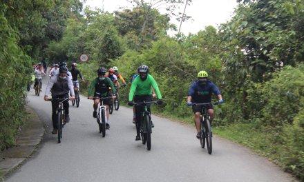 Angelópolis invita al uso de la bicicleta
