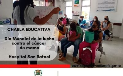Charlas educativas en hospital de Angostura
