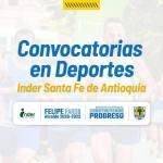 Santa Fe de Antioquia abre convocatoria de deportes