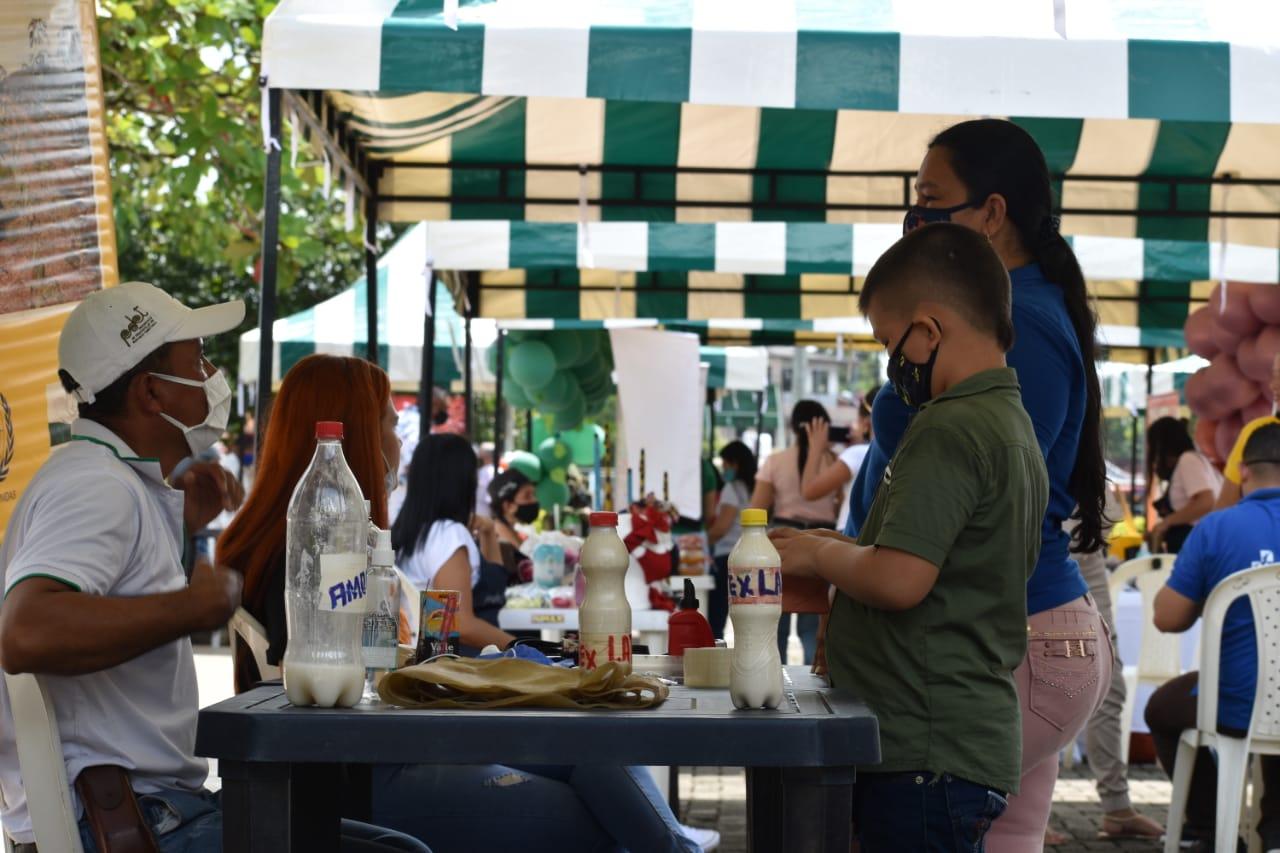 Feria agroempresarial campesina en Tarazá