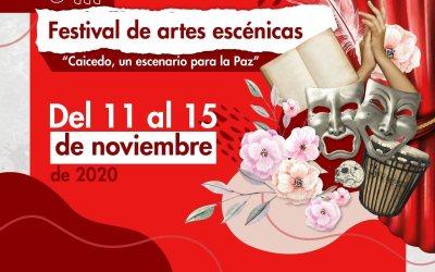 Festival de artes escénicas en Caicedo