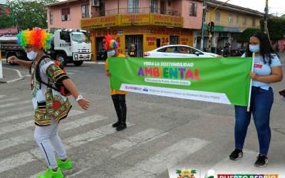 Puerto Berrío realiza campañas en pro del medio ambiente