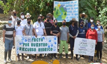 Jornada de limpieza en las fuentes hídricas de Yolombó