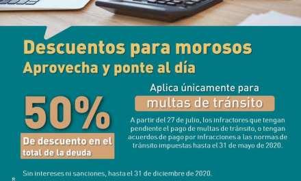 En Caldas tienen hasta el 31 de diciembre para pagar las multas de tránsito con el 50% de descuento