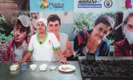 Girardota resalta el conocimiento de las mujeres rurales por medio de un microprograma de televisión