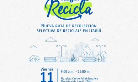 """""""Itagüí recicla"""" la nueva campaña del municipio"""