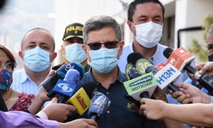 Medidas para afrontar nuevo pico de contagios en Antioquia