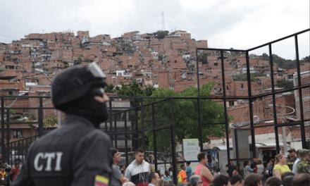 Acciones contra el crimen organizado y el homicidio en Medellín