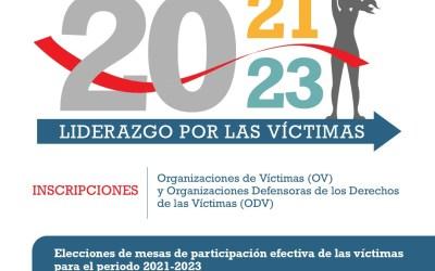 Segovia le apuesta a el liderazgo de las víctimas del conflicto armado