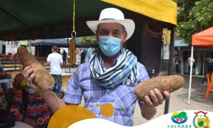 Mercado campesino en Yolombó