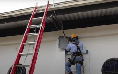 En Santo Domingo se instalan alarmas para evitar emergencias