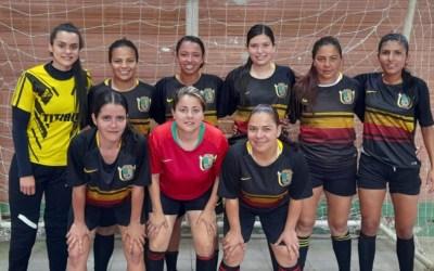Nuevas campeonas de fútbol sala son de Tititibí