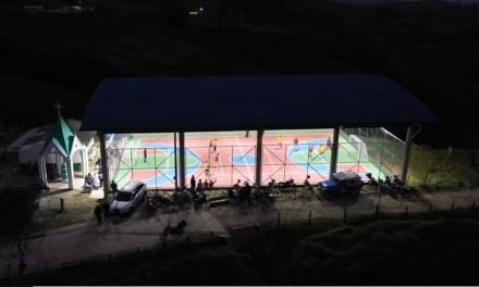 Placa deportiva para la vereda Miraflores