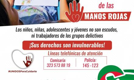 Cañasgordas celebra el día internacional de las Manos Rojas