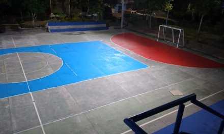 En Puerto Triunfo se está recuperando los escenarios deportivos