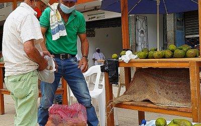Feria del campo en Caracolí