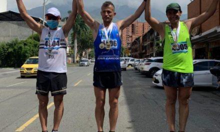 Cejeño ganó la medalla de oro en la Maratón Valle de Aburrá