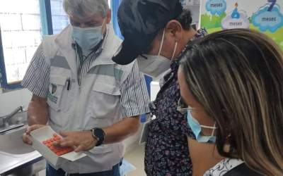 Yondó fue el primer municipio del Magdalena Medio en iniciar el plan de vacunación