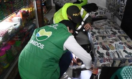 17 establecimientos cerrados dejan operativos en conjunto de la subsecretaría de Ingresos y la Policía Nacional