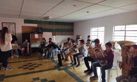 La música suena en Montebello, Antioquia